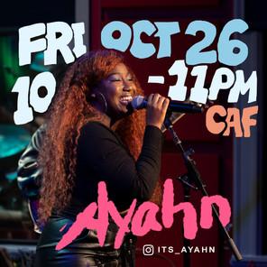 AYAHN CAF SHOW
