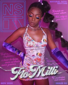 NSR Magazine Cover - FLO MILLI