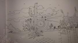 DESERT LINE DRAWING