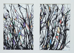 INK TREES - 2011