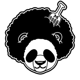 PANDA WITH THE FRO