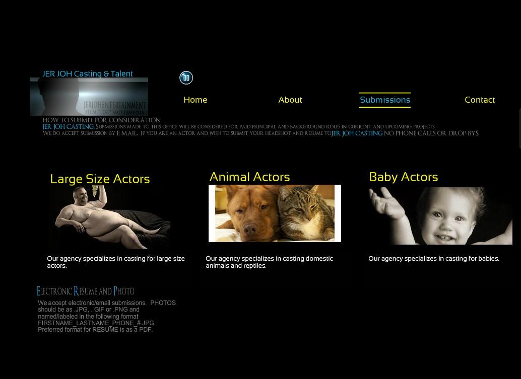 Casting Website