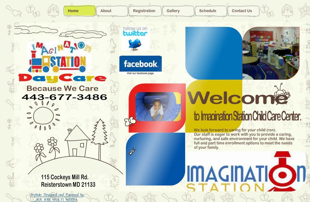 Daycare Center Website