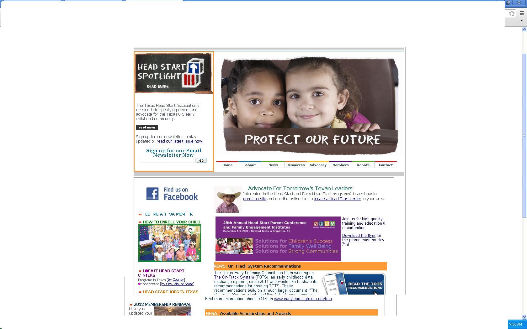 Headstart Website
