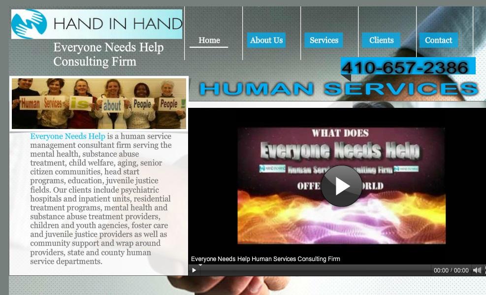 Human Service Website