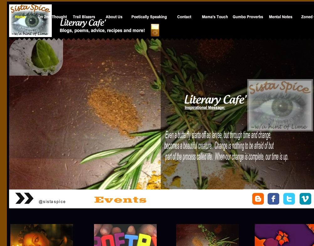 Poetry Website