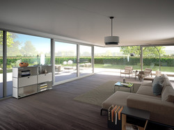 Lift & Slide Doors are ideal for large openings