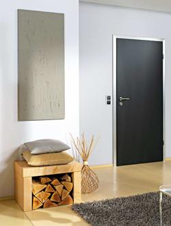 Modern Interior Door with metal frame