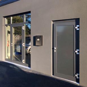 Glass Entrance Door Unit