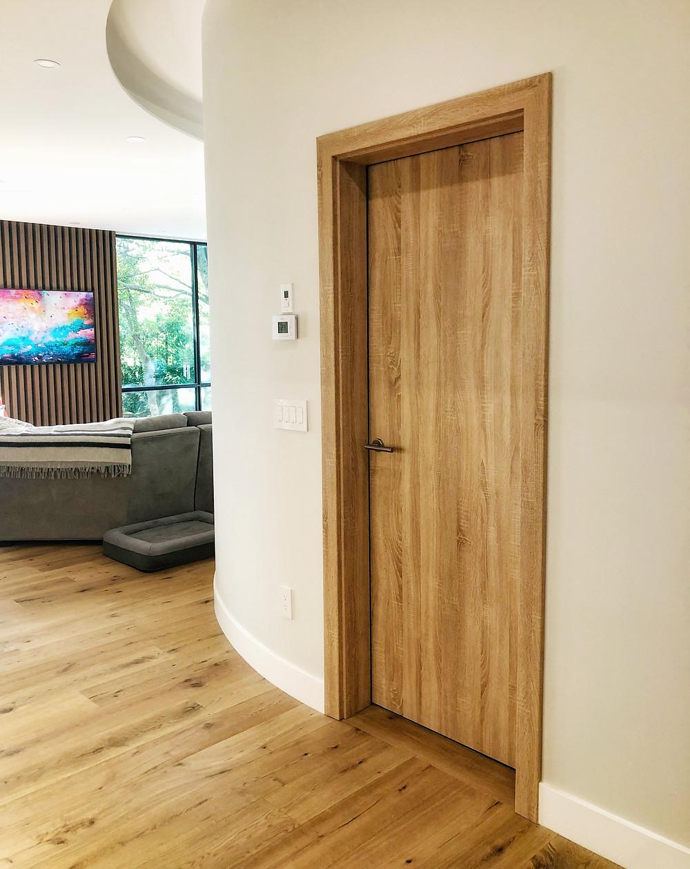 Interior Door, Garage Interior Door, Wood Interior Door, Modern Interior Door