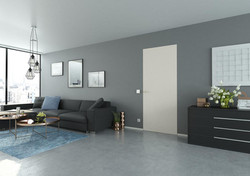 LEBO Interior Doors, Modern Interior Door, Contemporary Interior Doors, Flush Interior Doors, Europe