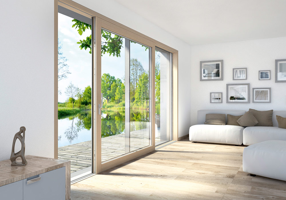 HELT Lift & Slide Doors are available in hundreds of different finishes