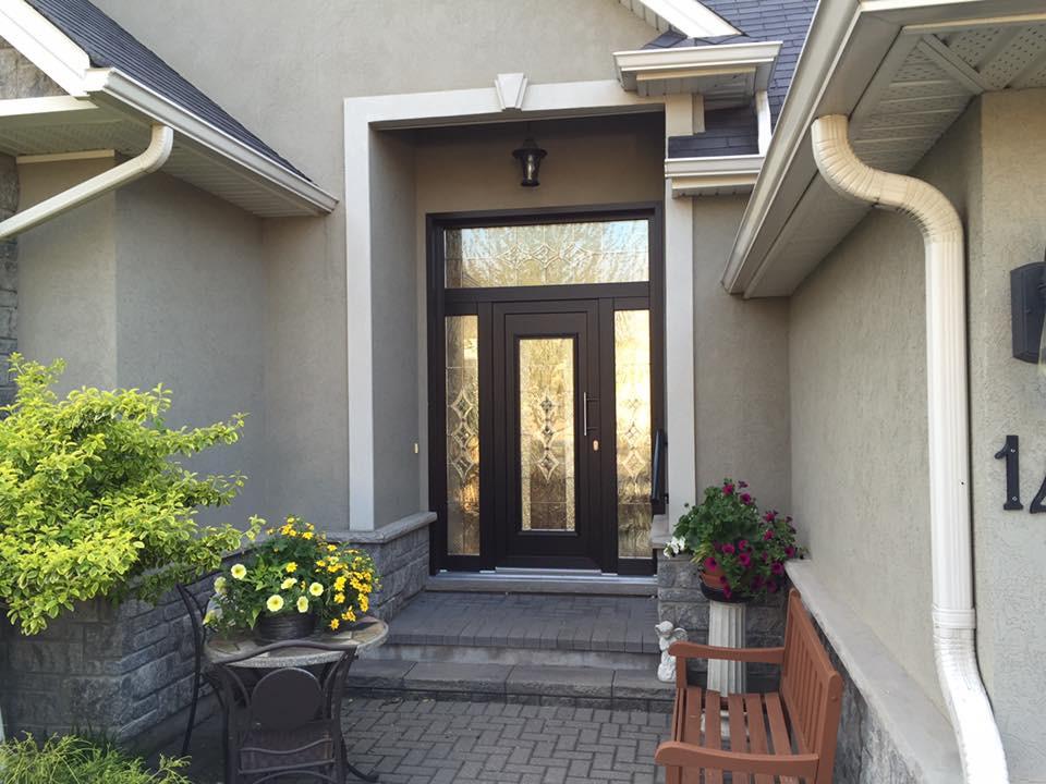 PVC Entrance Door, Traditional Entrance Door, Glass Entrance Door, Front Door, St. Catharines, Hamilton, Burlington, Oakville, Mississauga, Toronto, Muskoka, Barrie, Ottawa, Montreal