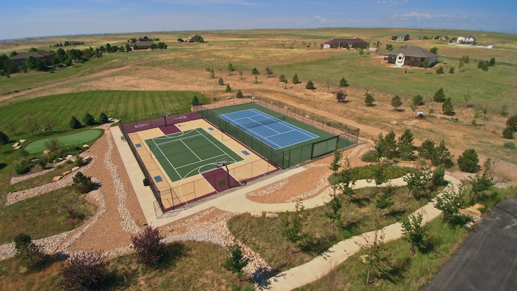 Pelican Lake Ranch Tennis Courts