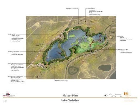 Pelican Lake Ranch Lake Christina Concepts