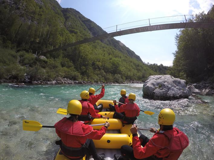 Classic rafting tour