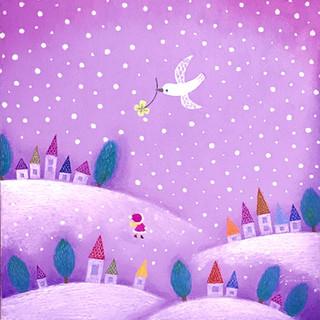 白い鳥〜雪〜