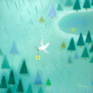 白い鳥〜森〜