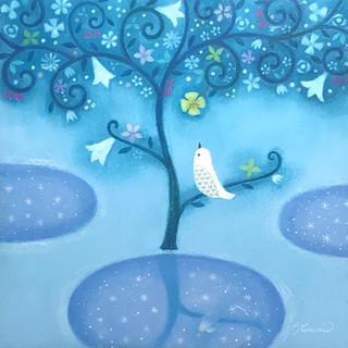 白い鳥〜水〜