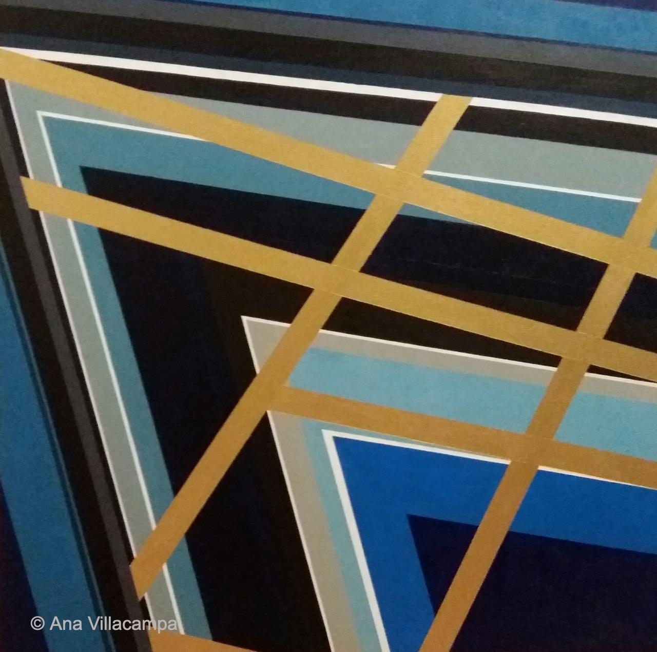 """Sailing reflections"" by A. Villacampa"