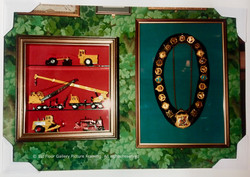 Box frames for memorabilia