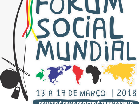 Date set for World Social Forum 2018!