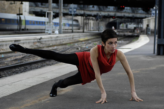 Nicola, train stop