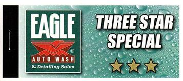 Three Star Wash 6 Pak