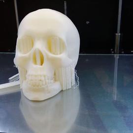 Impressão feita com a impressora 3d da 3