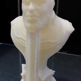 Impressão feita na impressora 3D da 3D T