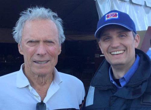"""On the set of """"Sully"""""""