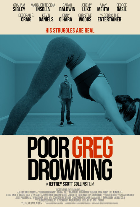 """""""POOR GREG DROWNING"""" OFFICIAL POSTER & OUR FIRST REVIEW!!"""