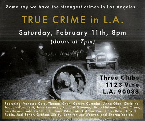 TRUE CRIME / LIVE JAZZ