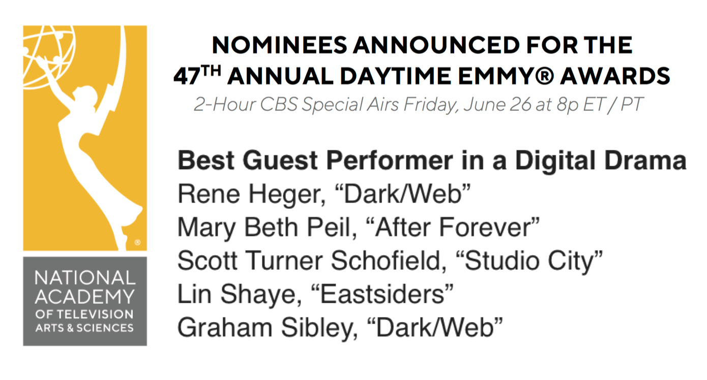 Graham Sibley EMMY nomination