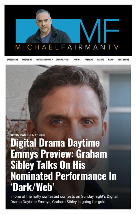 MICHAEL FAIRMAN TV INTERVIEW