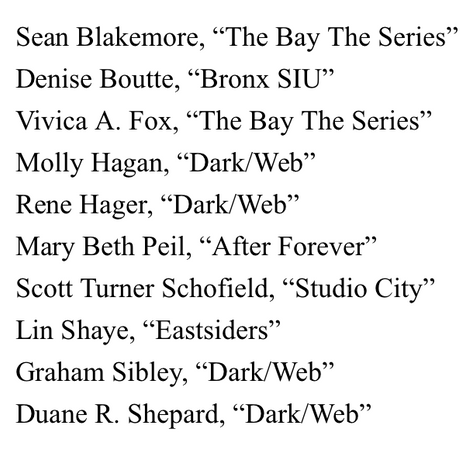 2020 EMMY PRE-NOMINATIONS - OUTSTANDING GUEST PERFORMANCE IN A DIGITAL SERIES