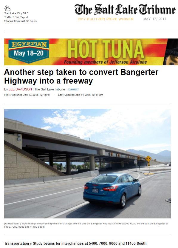 Tribune Another Step taken