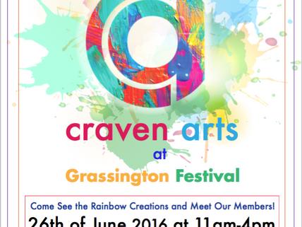 Craven Arts at Grassington Festival