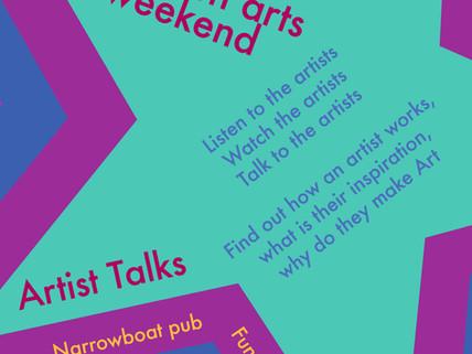 Craven Arts Weekend - Artist Talks