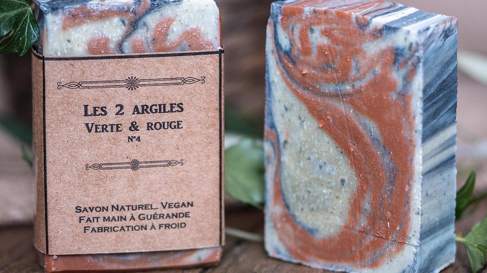 Les deux argiles - Verte & rouge - N°4