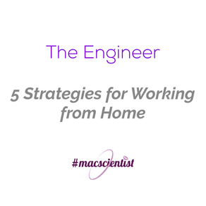 The Engineer: 5 Strategies for Working From Home