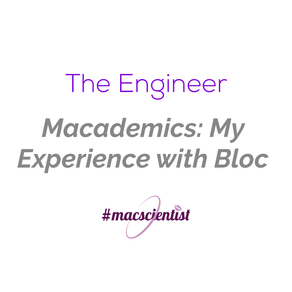 Macademics: My Experience with Bloc