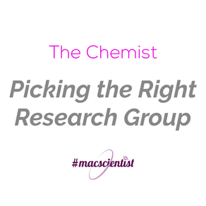 The Chemist: Picking the Right Research Group