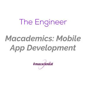 Macademics: Mobile App Development