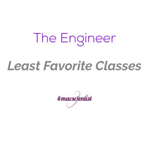 The Engineer: Least Favorite Classes