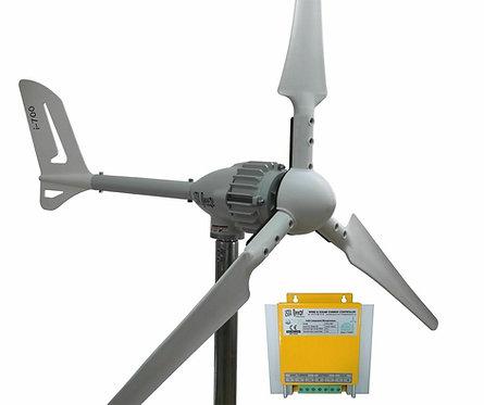 Aerogenerador 700w 24v con regulador hibrido