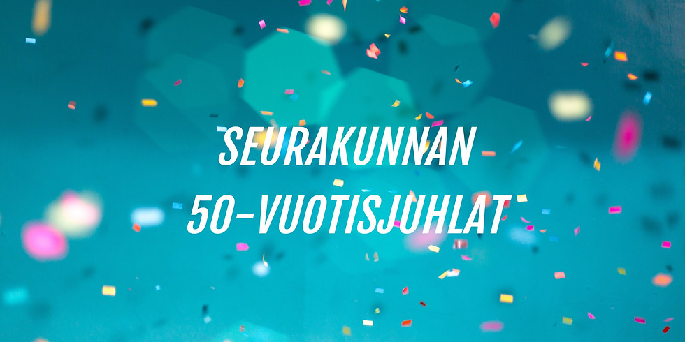 Seurakunnan 50-vuotisjuhla