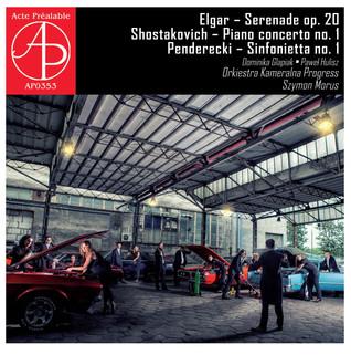 Elgar / Schostakovich / Penderecki (Acte Préalable, 2015)