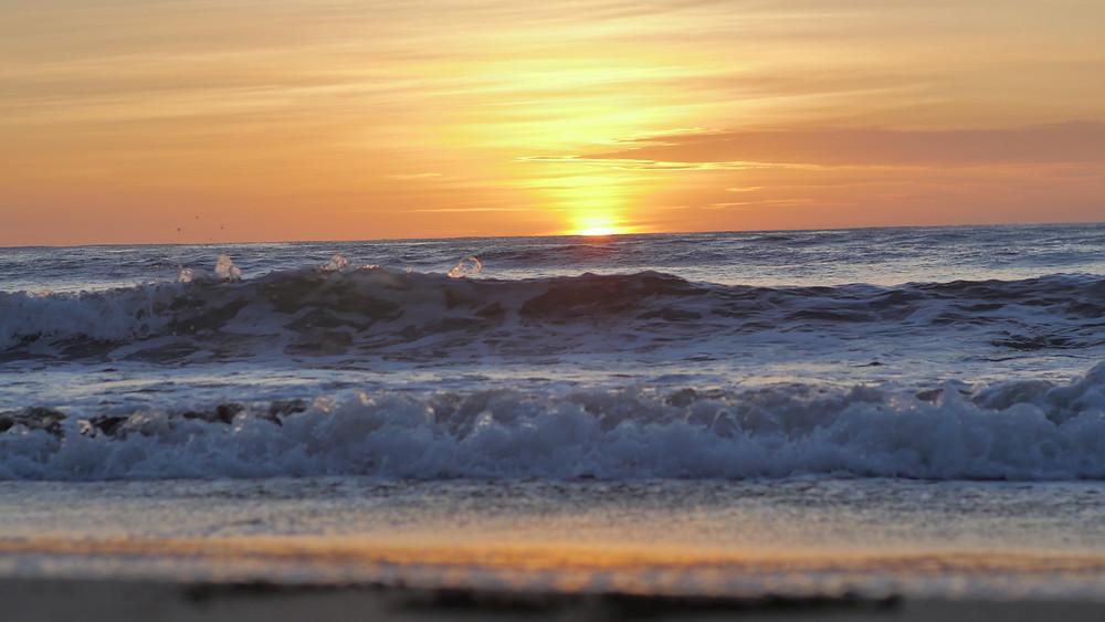 A perfect sunset at Mukul Resort.