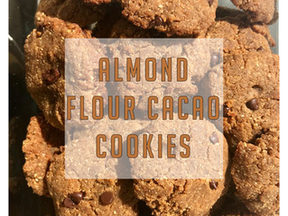 Almond Flour Cacao Cookies Recipe!